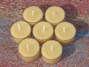Pure Beeswax Tealight Candles