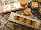 Pure Beeswax Votives - Gift Box of 4
