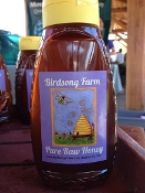 Honey - Organic Raw 1 lb. Dripless Squeeze