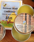 Birdsong Farm, pure beeswax wood conditioner